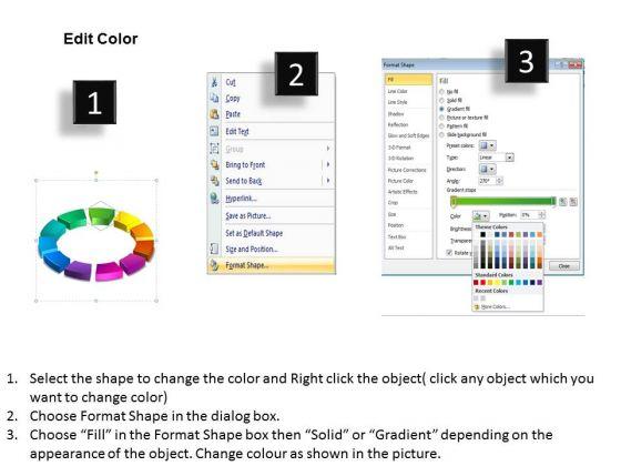 business_diagram_3d_ring_process_11_pieces_sales_diagram_3