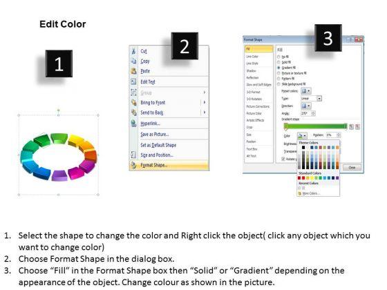 business_diagram_3d_ring_process_12_pieces_sales_diagram_3