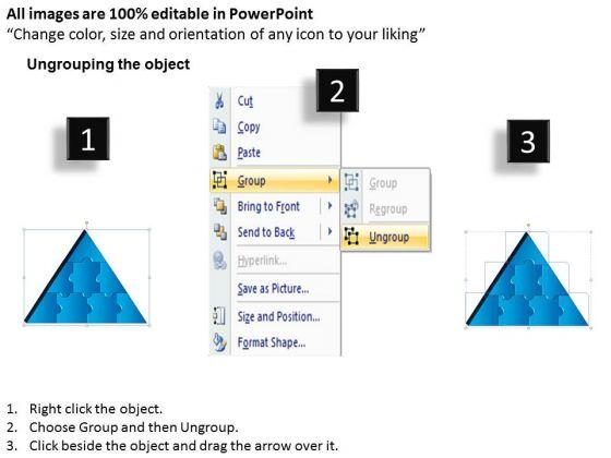 business_diagram_3d_triangle_puzzle_process_8_pieces_sales_diagram_2
