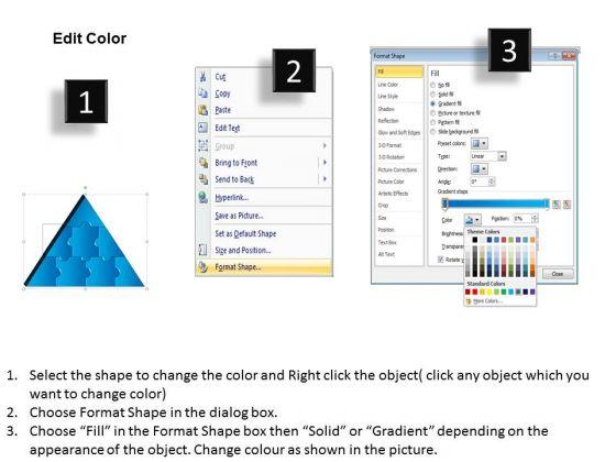business_diagram_3d_triangle_puzzle_process_8_pieces_sales_diagram_3