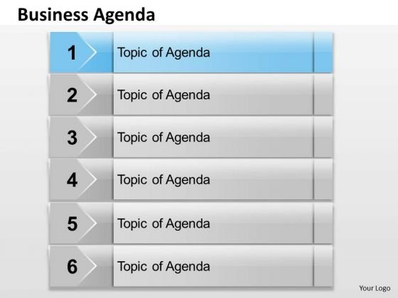 Business Diagram Business Agenda Business Cycle Diagram