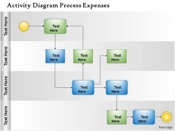 Business Diagram Business Process Swimlane Diagram Strategic Management