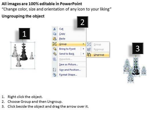 business_diagram_chess_board_business_framework_model_2