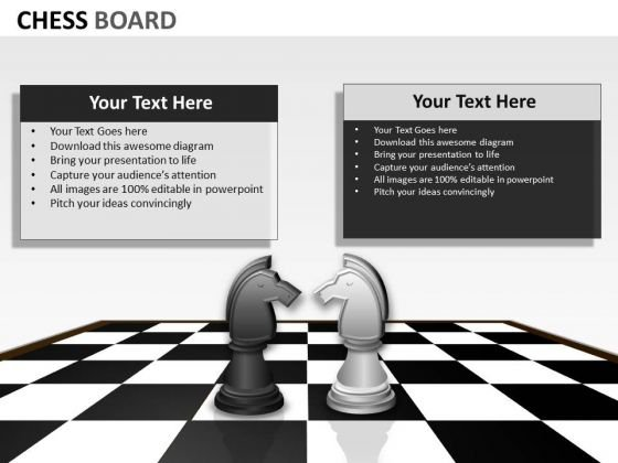 Business Diagram Chess Board Mba Models And Frameworks