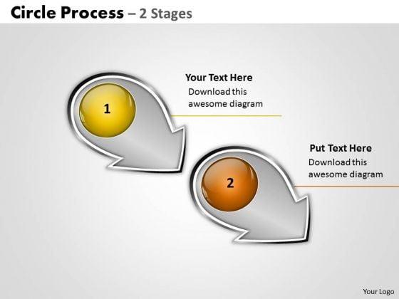 Business Diagram Circle Arrow Process