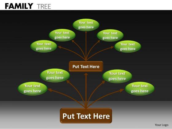 Business Diagram Family Tree Marketing Diagram
