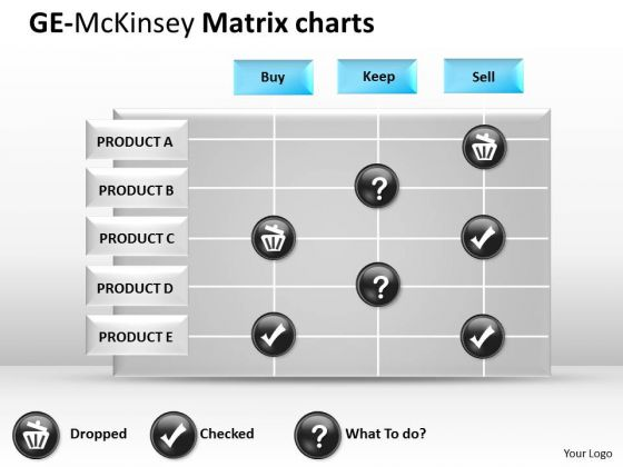 Business Diagram Ge Mckinsey Plan Marketing Diagram