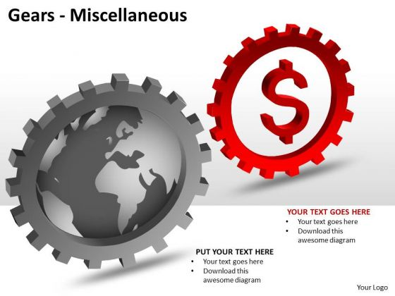 Business Diagram Gears Miscellaneous Business Cycle Diagram