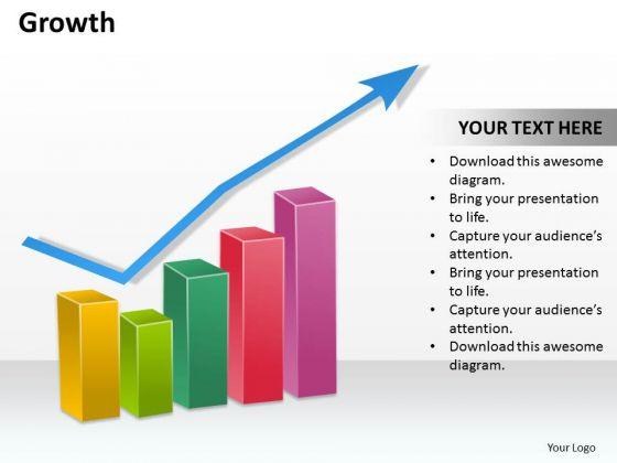 Business Diagram Growth Marketing Diagram