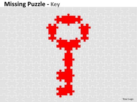 Business Diagram Misssing Puzzle Key Mba Models And Frameworks