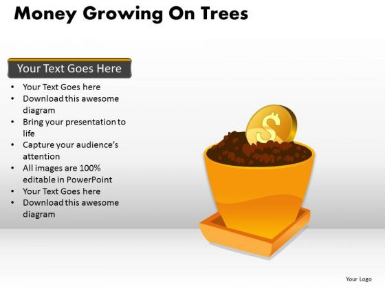 Business Diagram Money Growing On Trees Mba Models And Frameworks