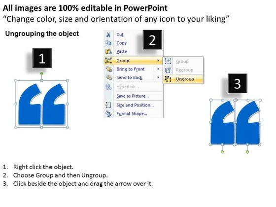 business_diagram_motivational_quote_presentation_slide_strategic_management_2