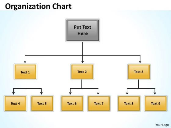 Business Diagram Origanization Charts Marketing Diagram