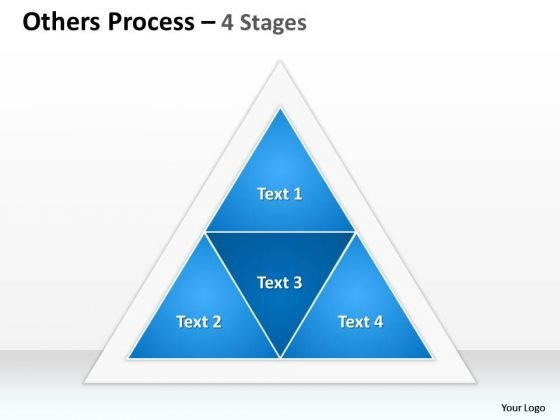 Business Diagram Others Process 4 Stages Sales Diagram