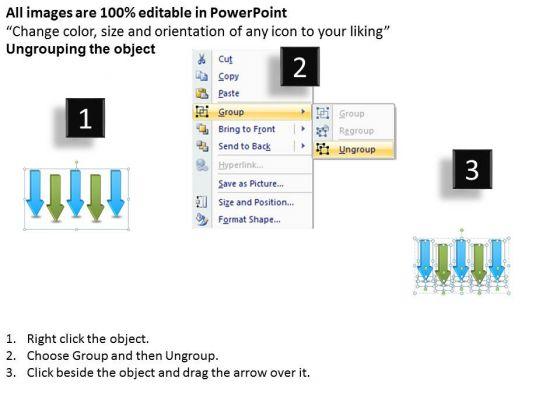 business_diagram_parallel_arrow_stages_strategic_management_2
