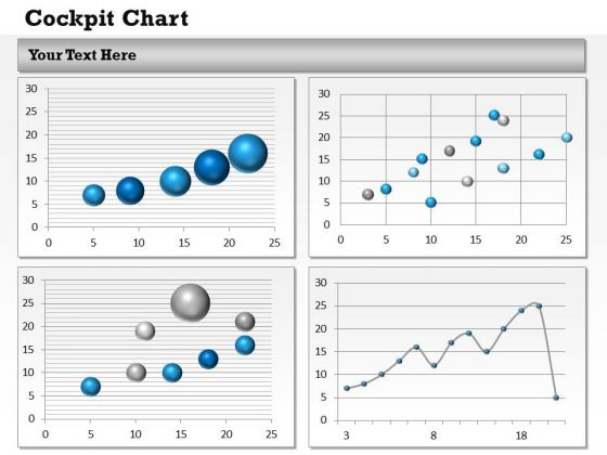 Business Diagram Performance Dashboards For Business Strategic Management