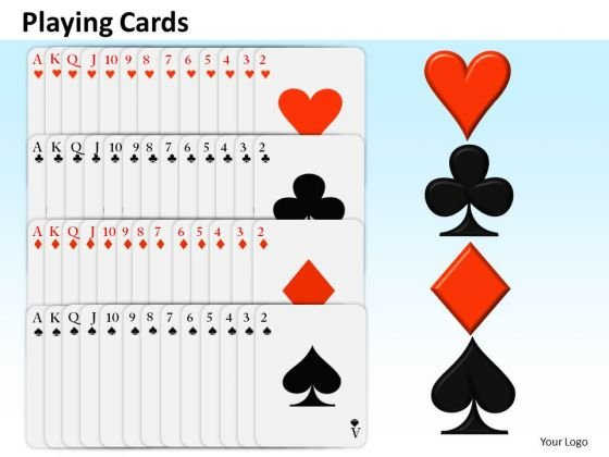 Business Diagram Playing Cards Mba Models And Frameworks