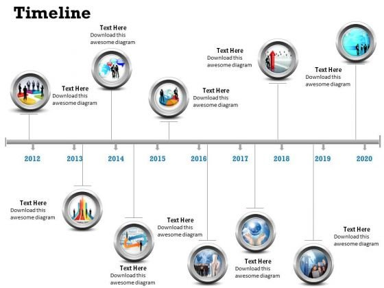Business Diagram See Business Timeline Roadmap Diagram Strategy Diagram