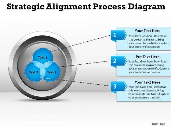Business Diagram Strategic Alignment Process Diagarm Templates Marketing Diagram