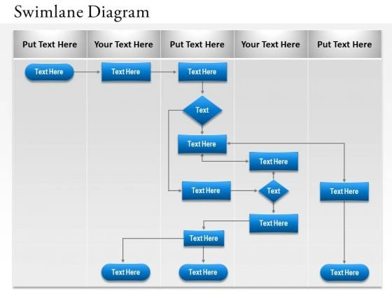 Business Diagram Swimlane And Sequence Diagram Business Framework Model