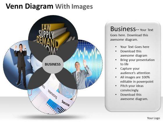 Business Diagram Venn Diagram With Images Sales Diagram