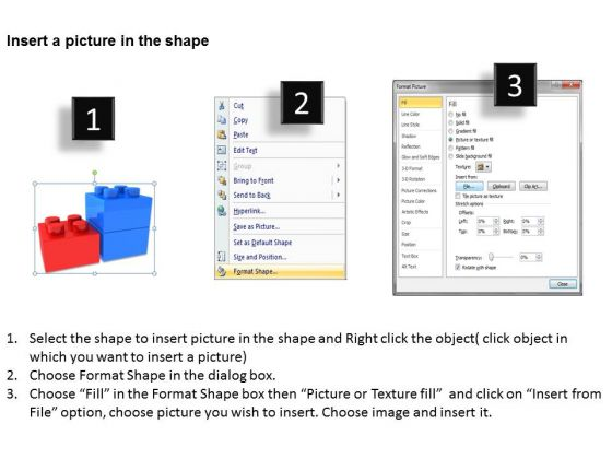 business_finance_strategy_development_3d_lego_blocks_2_step_sales_diagram_3