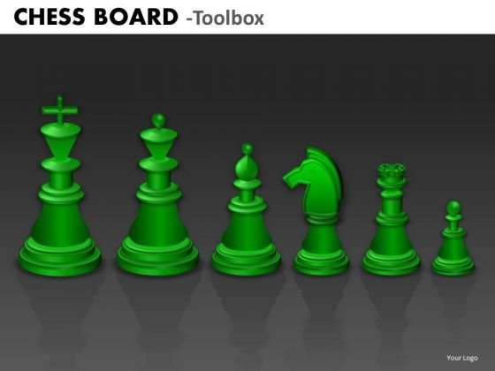Business Finance Strategy Development Chess Board Strategy Diagram