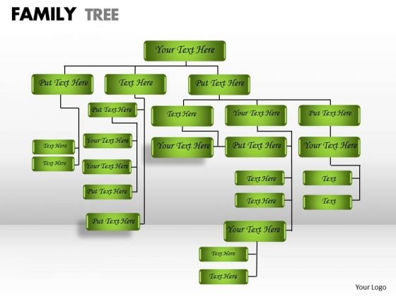 Business Finance Strategy Development Family Tree Sales Diagram