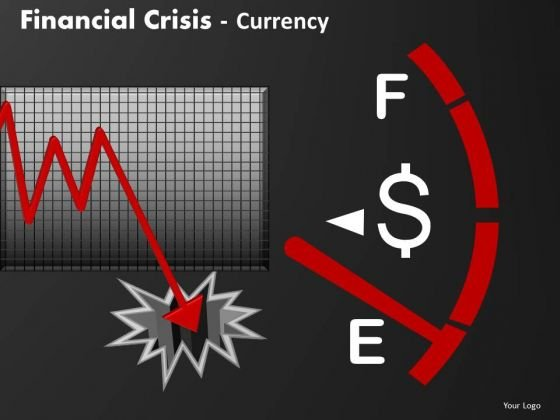 Business Finance Strategy Development Financial Crisis Currency Sales Diagram