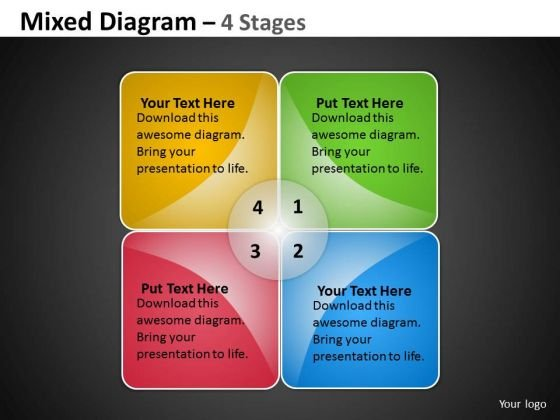 Business Finance Strategy Development Mixed Chart For Business And Sales Strategy Diagram