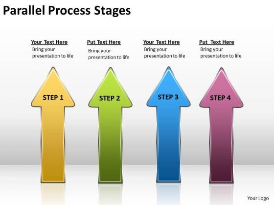 Business Finance Strategy Development Parallel Process Stages Mba Models And Frameworks