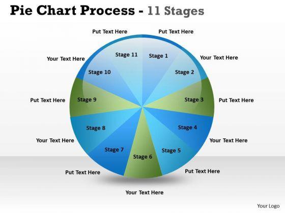 business_finance_strategy_development_pie_chart_process_11_stages_sales_diagram_1