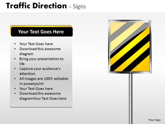 Business Finance Strategy Development Traffic Direction Signs Business Cycle Diagram