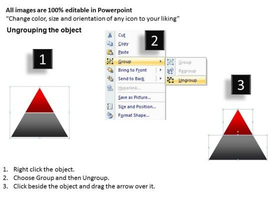 business_framework_model_2_staged_pyramid_for_business_process_sales_diagram_2