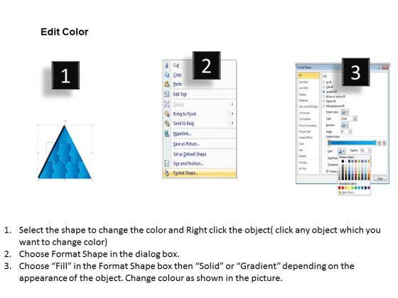 business_framework_model_3d_triangle_puzzle_process_8_pieces_sales_diagram_3
