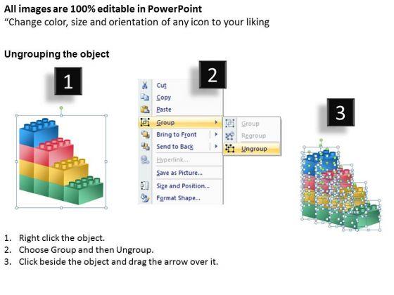 business_framework_model_building_lego_process_4_stages_sales_diagram_2