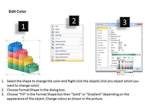 business_framework_model_building_lego_process_4_stages_sales_diagram_3