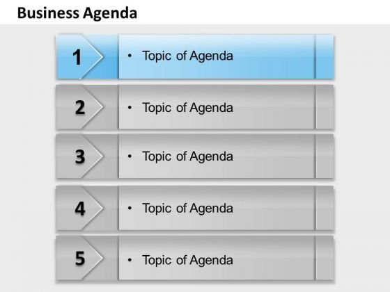 Business Framework Model Business Agenda Strategy Diagram