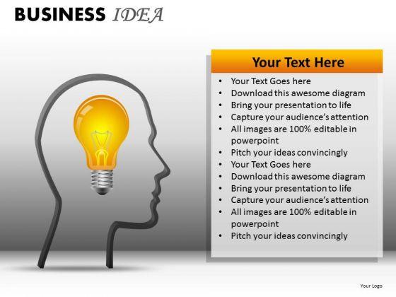 Business Framework Model Business Idea Strategy Diagram