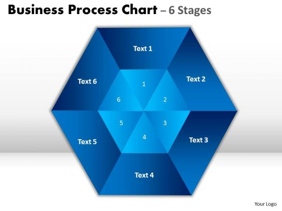 Business Framework Model Business Process Chart 6 Stages Strategy Diagram