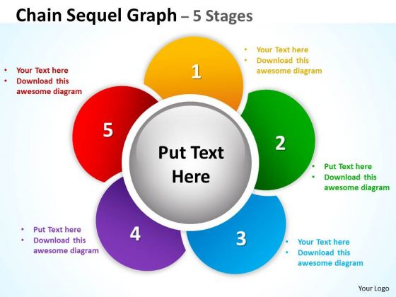 Business Framework Model Chain Sequel Graph Diagrams Consulting Diagram