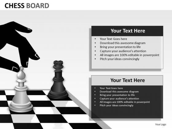 Business Framework Model Chess Board Strategic Management