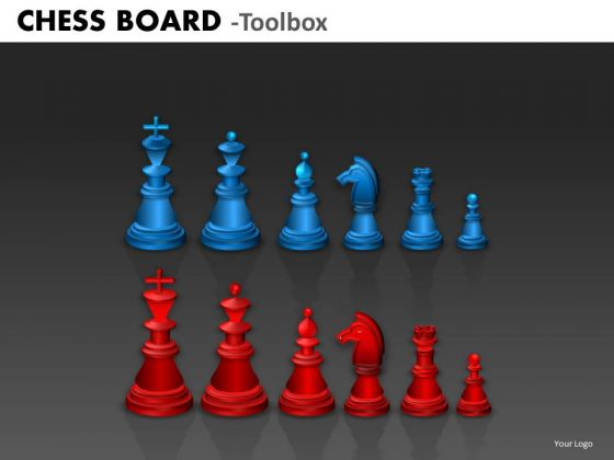 Business Framework Model Chess Board Strategy Diagram
