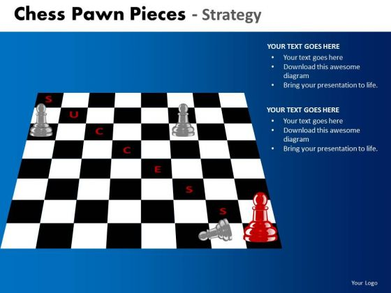 Business Framework Model Chess Pawn Pieces Strategy Strategic Management