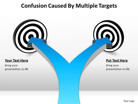 Business Framework Model Confusion Caused By Multiple Targets 5 Business Cycle Diagram