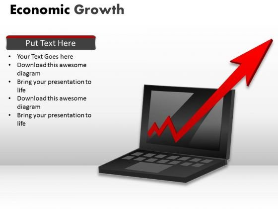 Business Framework Model Economic Growth Marketing Diagram