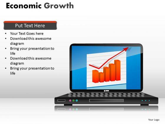 Business Framework Model Economic Growth Strategy Diagram