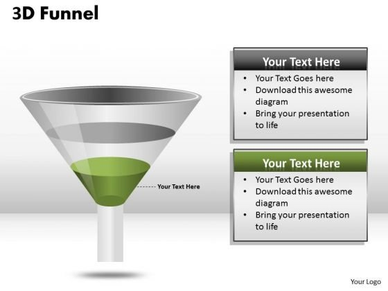 Business Framework Model Funnel Diagram For Process Flow Consulting Diagram