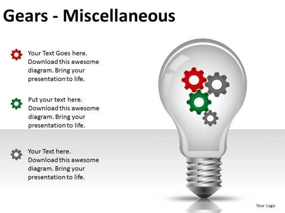 Business Framework Model Gears Misc Marketing Diagram