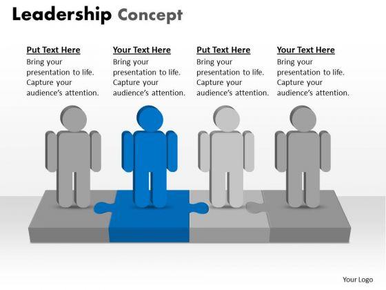 Business Framework Model Leadership Concept Marketing Diagram